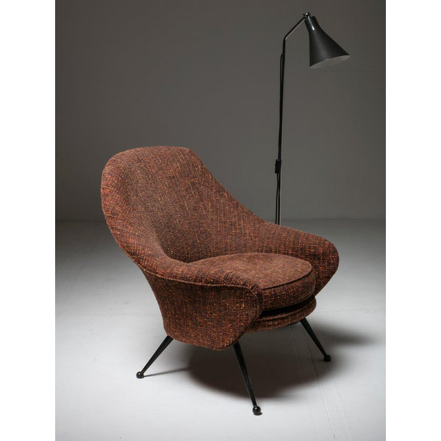 """Martingala"" Lounge Chair by Marco Zanuso for Arflex For Sale - Image 6 of 7"
