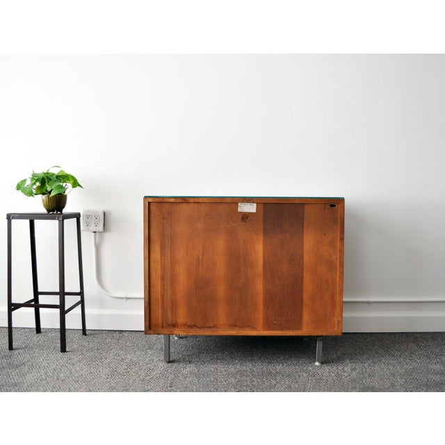 Mid-Century Modern Walnut Cabinet - Image 8 of 10