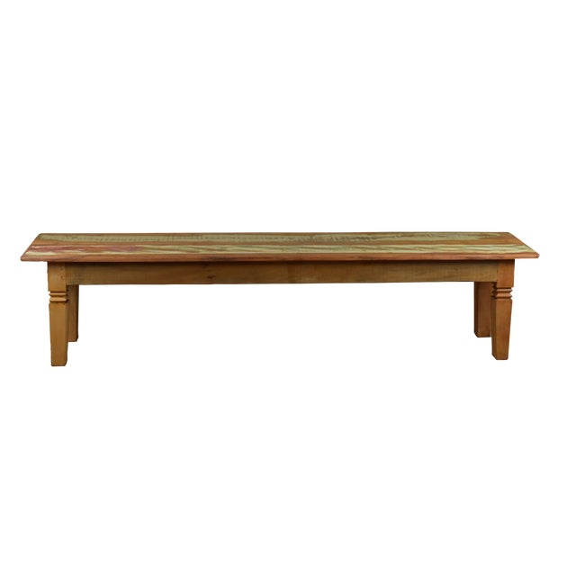 Reclaimed Wood Dining Bench For Sale
