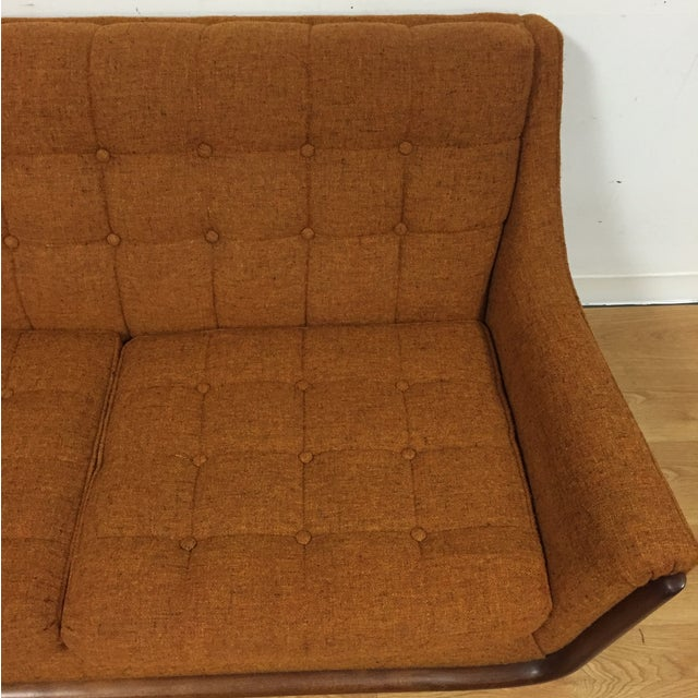 Mid Century Pearsall Style Sofa - Image 5 of 9