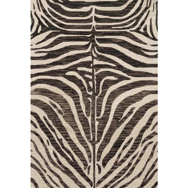 "Loloi Rugs Masai Rug, Java / Ivory - 2'6""x7'6"" For Sale"