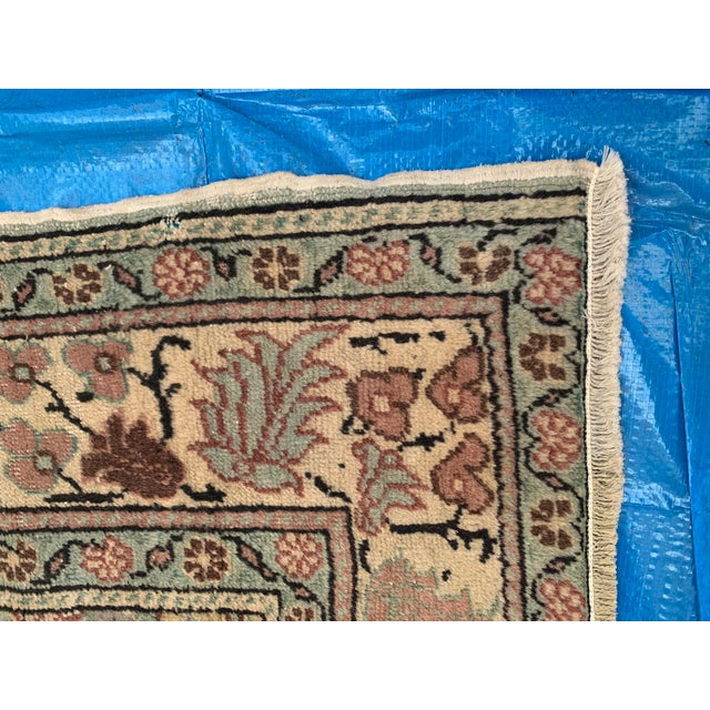 Antique Persian Area Rug- 4′9″ × 6′5″ For Sale In Los Angeles - Image 6 of 9