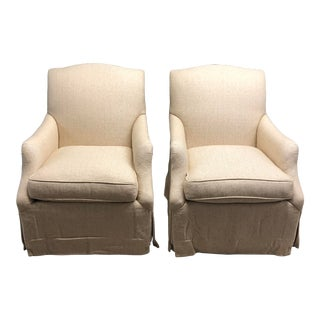 Lee Industries Lily Chairs for Kellogg Collection - a Pair For Sale