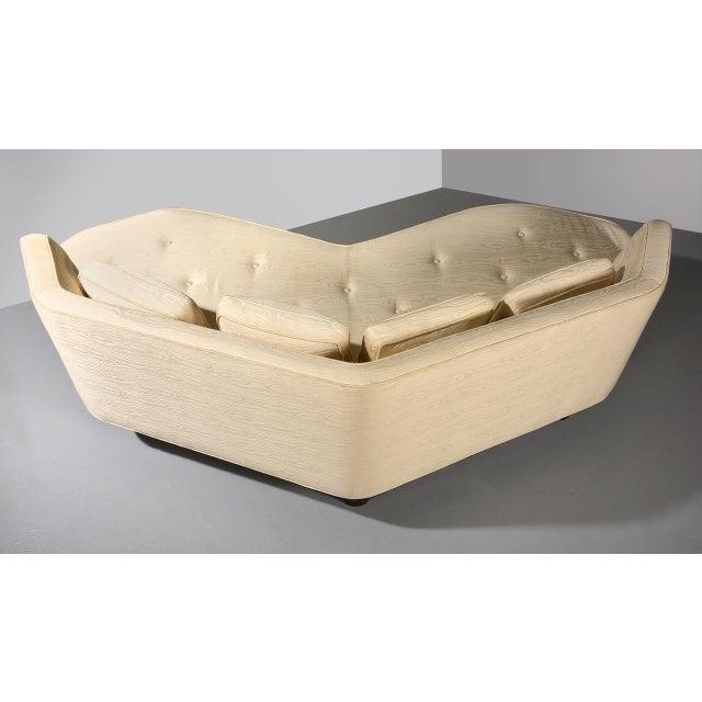 1950s Edward Wormley for Dunbar 'Janus' Sofa Model 6329, Circa 1950s For Sale - Image 5 of 11