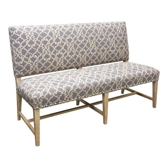 Wood Fremarc Designs Bench For Sale - Image 7 of 7