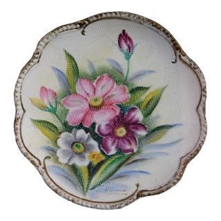 1950s French Cottage Plate For Sale