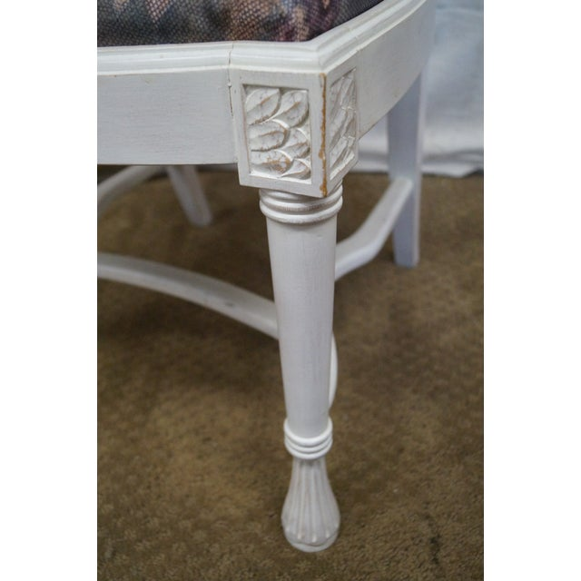 Whitewash Dining Chairs - Set of 10 - Image 7 of 10