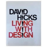 Image of David Hicks Living With Design Coffee Table Book For Sale