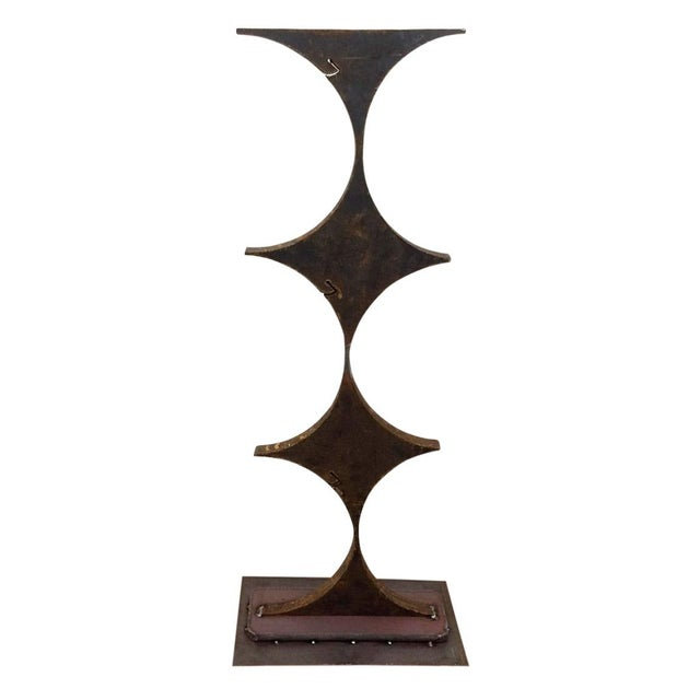 Late 20th Century Abstract Iron Sculpture 3 For Sale In Providence - Image 6 of 6