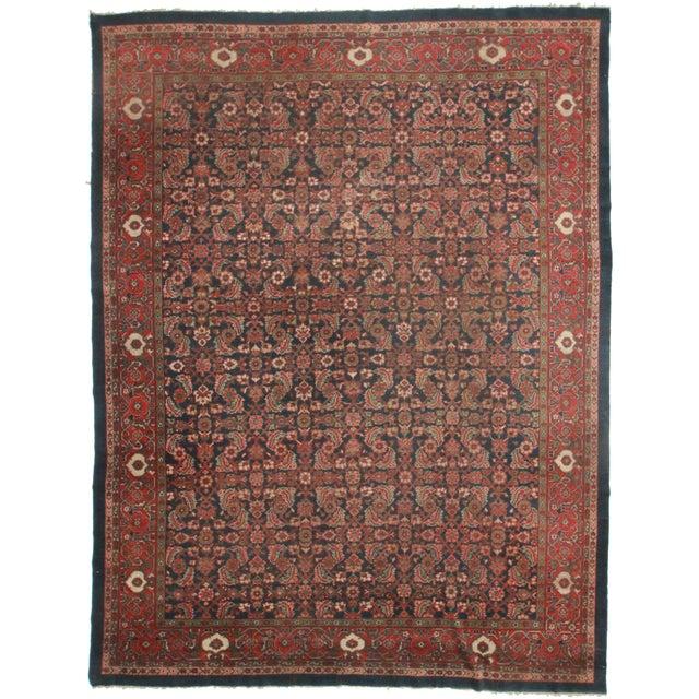 "Persian Mahal Rug - 10' x 13'3"" For Sale"