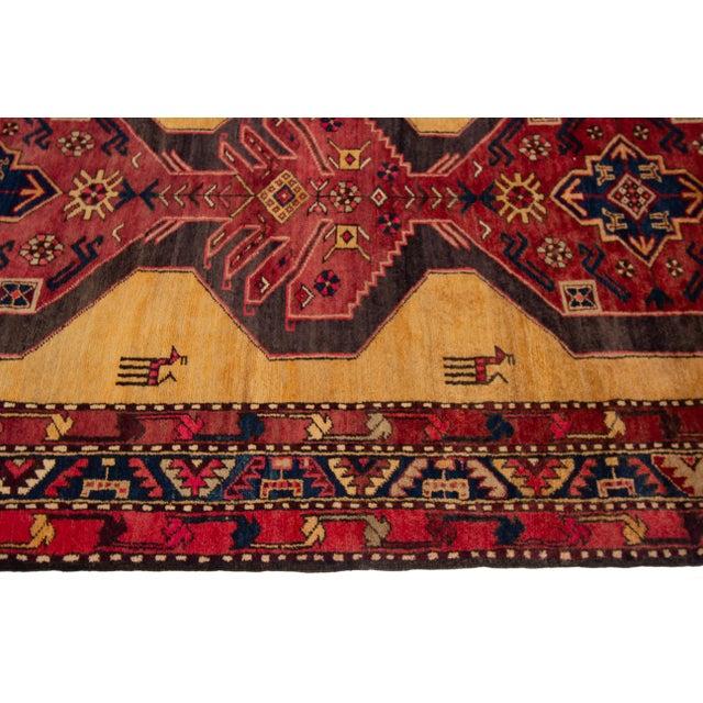 "Apadana - Vintage North West Persian Rug, 4'4"" X 10'8"" For Sale - Image 4 of 9"