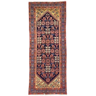 1930s Antique Persian Malayer Runner - 3′3″ × 7′11″ For Sale