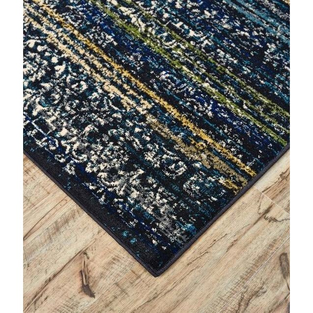 Brixton Midnight Blue Rug by Feizy - 8' x 11' - Image 2 of 2