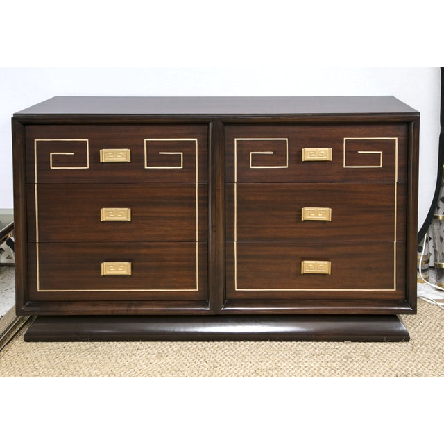 Tommi Parzinger Style Gold Detailed Sideboard - Image 2 of 10