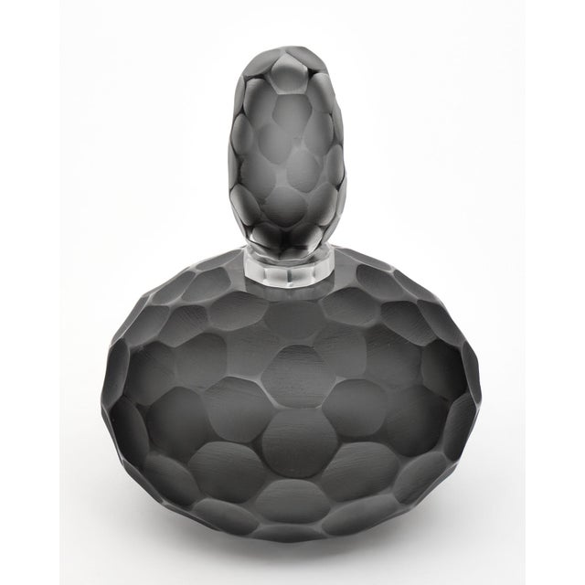 """Murano Glass """"Ferro Battuto"""" Bottles For Sale In Austin - Image 6 of 10"""