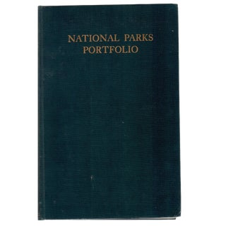 "1931 ""The National Parks Portfolio"" Coffee Table Book For Sale"