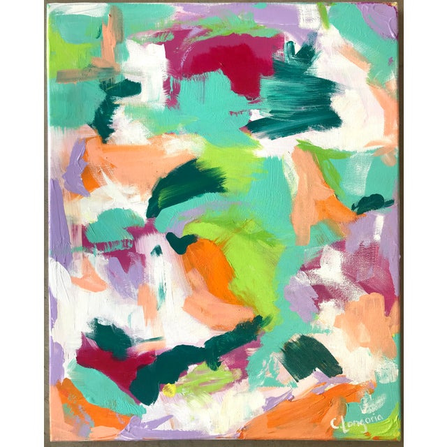 2010s Christina Longoria Martin Abstract Painting For Sale - Image 5 of 5