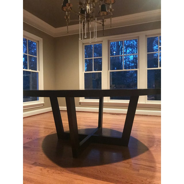 Italian 72 Inch Round Dining Table For Sale - Image 10 of 13