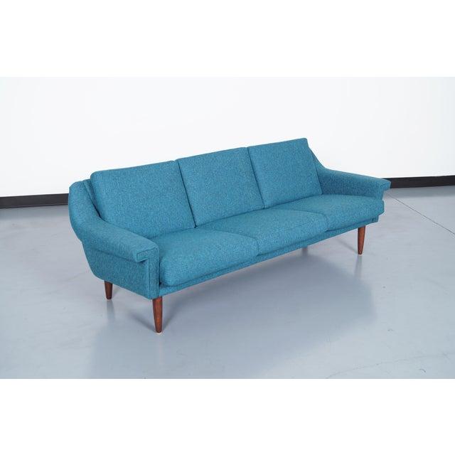 Danish Modern Danish Modern Sofa For Sale - Image 3 of 7