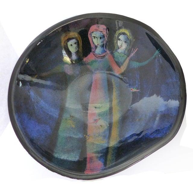 Figural Ceramic Bowl by Polia Pillin - Image 2 of 5