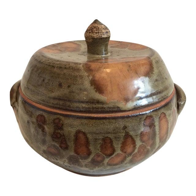 Decorative Ceramic Casserole - Image 1 of 6