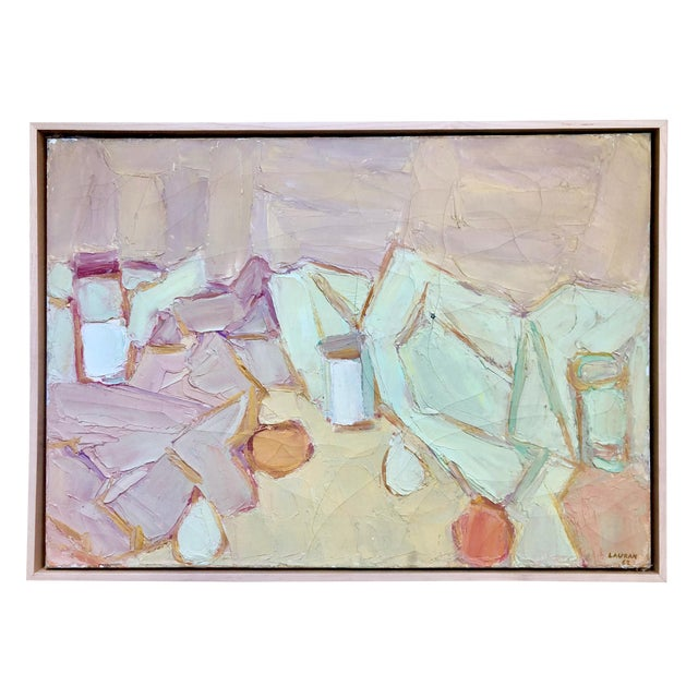1962 Andre Lauran Still Life Painting For Sale