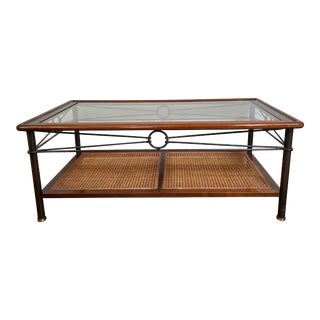 French Made Coffee Table by Grange Furniture For Sale