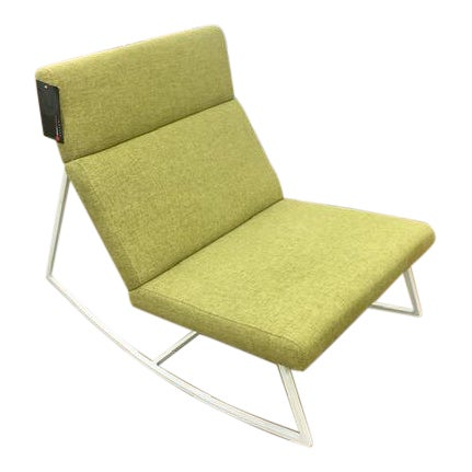 Gus Modern Gt Rocking Chair in Dandelion For Sale