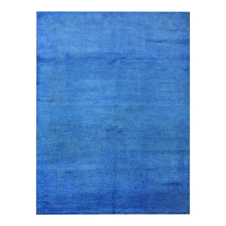 """Hand Knotted Over Dyed Oushak Rug by Aara Rugs Inc. - 3'2"""" X 5'0"""" For Sale"""