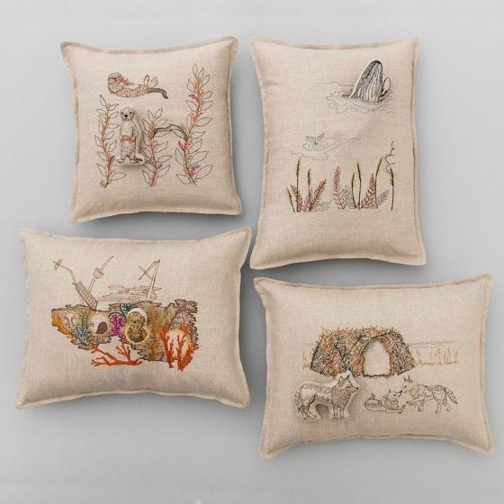 Sea Otter Pocket Pillow - Image 4 of 6