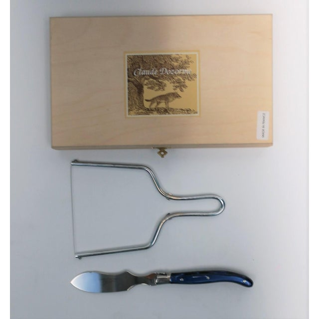 A beautiful set for holiday entertaining. This is a set of French cutting tools for soft cheeses and meats such as brie,...