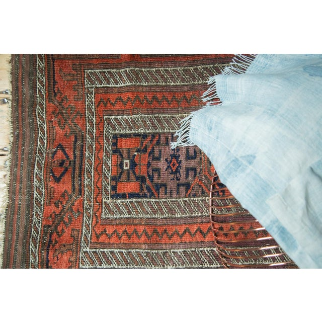 "Late 19th Century Antique Belouch Rug Runner - 3' x 5'8"" For Sale - Image 5 of 9"