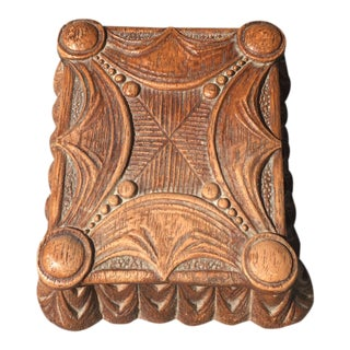 Small Syroco Art Nouveau Trinket Box