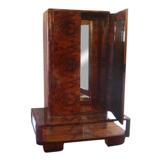 Italian Deco Gentleman's Changing Cabinet For Sale