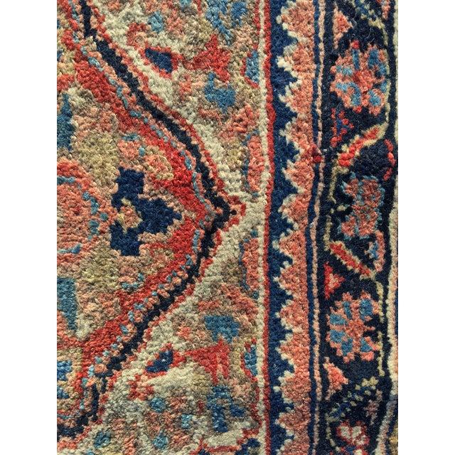 """Vintage Persian Heriz Door Mat Rug - 2'1"""" x 2'8"""" - Image 6 of 8"""