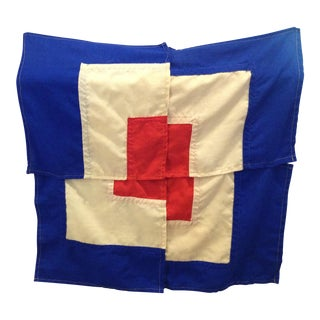 1960s Abstract Minimal Set of Nautical Signal Flags For Sale