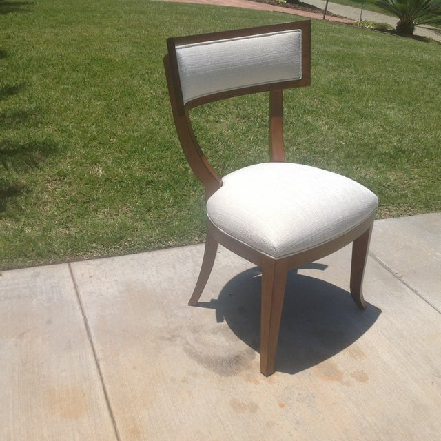 Modern Mid Century Style Klismos Dining Chair - Image 4 of 7