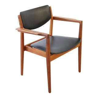 Finn Juhl for France & Son Model 196 Danish Teak Chair For Sale