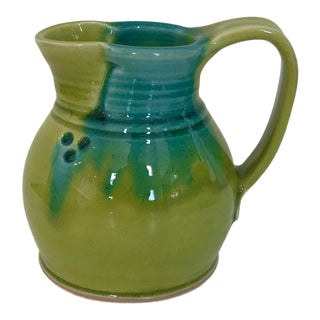 Green Staprans Design Small Pitcher For Sale