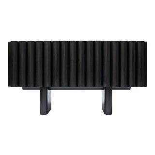 Steven Bukowski Bellow Sideboard in Ebonized Ash For Sale