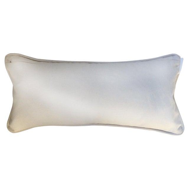 Mid-Century Modern Waves Lumbar Throw Pillow - Image 7 of 7