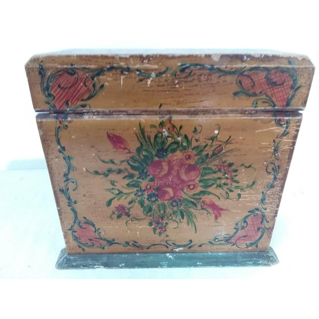 Antique Italian Letter Box For Sale - Image 5 of 6