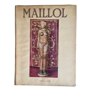 """Maillol""-Hyperion Press, Paris-1939 For Sale"