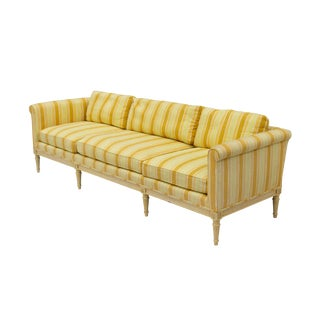 Vintage French-Style Sofa by Henredon For Sale