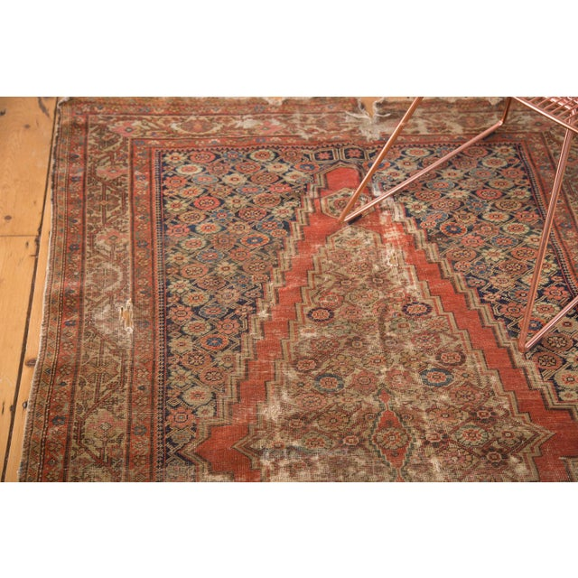 "Antique Fereghan Rug - 4'1"" x 6'3"" - Image 2 of 9"