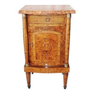19th Century French Neoclassical Chevet Nightstand For Sale