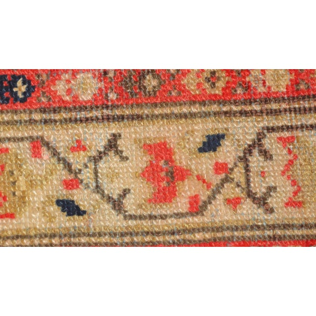 "Antique Persian Malayer Runner Rug - 3'3"" x 15'4"" - Image 3 of 4"