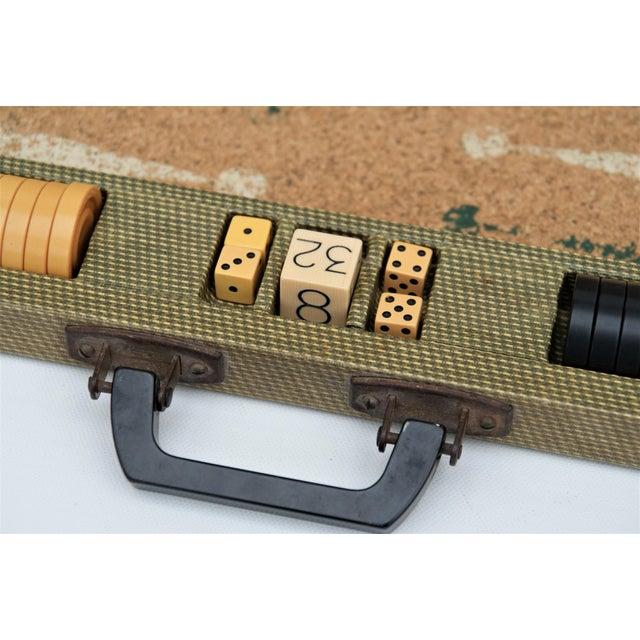 American Vintage Backgammon Set For Sale - Image 3 of 13