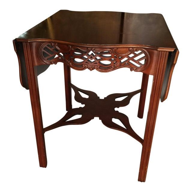 Baker Furniture Drop Leaf Table Pembroke Table Historic Charleston For Sale