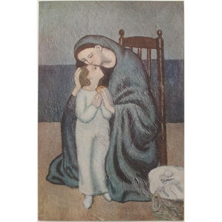 "1948 Original Lithograph "" Maternité"" by Picasso For Sale"